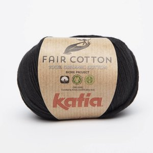 Katia Fair Cotton 2 Zwart