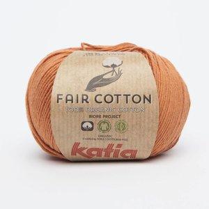 Katia Fair Cotton 21 Pasteloranje