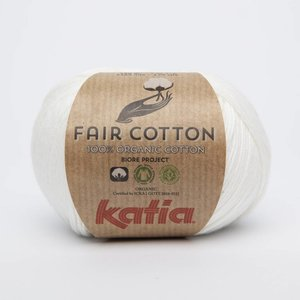 Katia Fair Cotton 3 Ecru