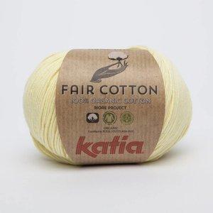 Katia Fair Cotton 7 Licht geel