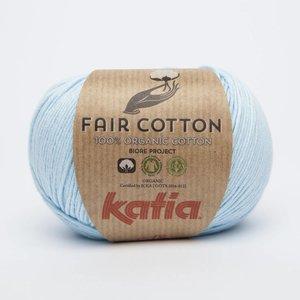 Katia Fair Cotton 8 Licht hemelsblauw