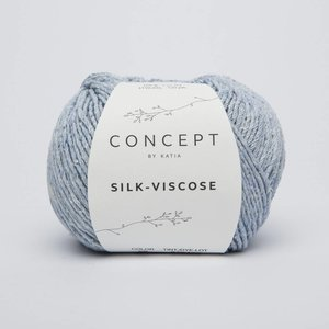 Katia Silk-Viscose 56 Hemelsblauw