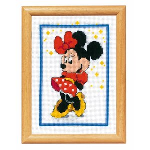 Vervaco Borduurpakket Minnie Mouse