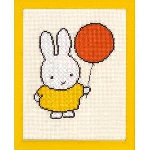 Borduurpakket Nijntje met ballon