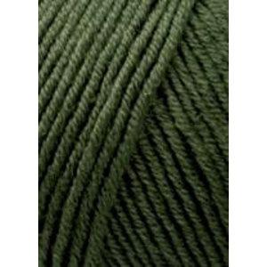 Lang Yarns Merino 120 498 donker olijfgroen