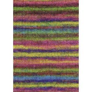 Lang Yarns Merino Dipinto 52 regenboog kleuren
