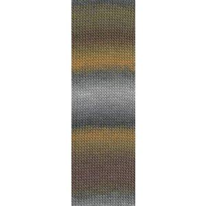 Lang Yarns Mille Colori Socks & Lace grijs/bruin (3)