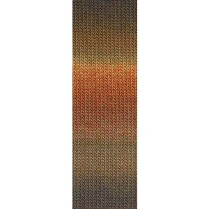 Lang Yarns Mille Colori Socks & Lace 39 oranje / bruin