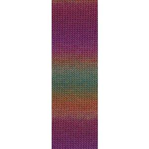Lang Yarns Mille Colori Socks & Lace 66 groen / paars