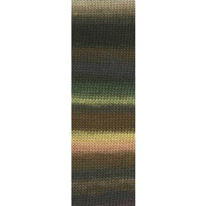 Lang Yarns Mille Colori Socks & Lace 67 bruin/groen