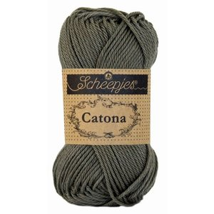 Scheepjes Catona 10 Dark Olive (387)