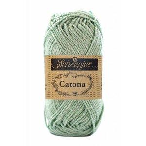 Scheepjes Catona 10 Silver Green (402)