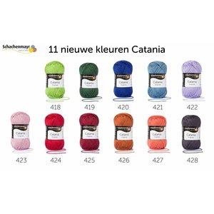 Schachenmayr Catania nieuwe kleuren 2018