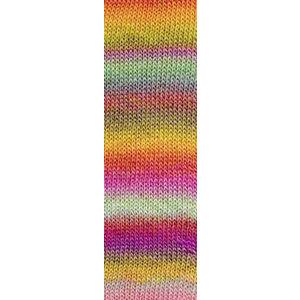 Lang Yarns Mille Colori Socks & Lace Luxe 53 Roze/Mint/Geel