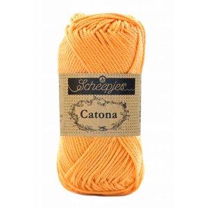 Scheepjes 10 x Scheepjes Catona 25 Sweet Orange (411)
