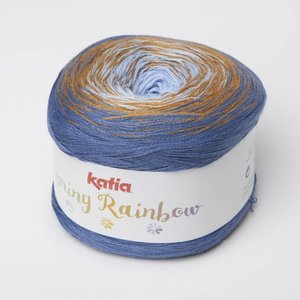 Katia Spring Rainbow Blauw/bruin (65)