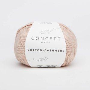 Katia Cotton cashmere 66 Zalmroze
