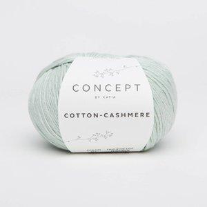 Katia Cotton cashmere 67 Witgroen