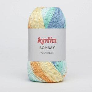 Katia Bombay oranje/blauw (2032)