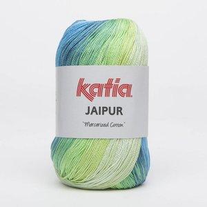 Katia Jaipur blauw/groen (216)