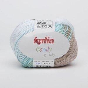 Katia Candy 670 Blauwgroen - Agaatgrijs
