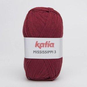 Katia Mississippi 3 821 wijnrood