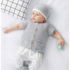 Phildar Garenpakket: Baby jasje Baudoin (152-6)