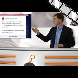 """Video """"SSL sicher erkennen"""" moderiert"""