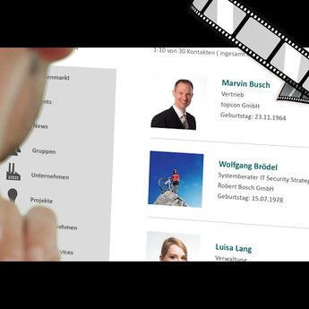 """szenisches Video """"Was Xing über Kundenbeziehungen verrät"""""""