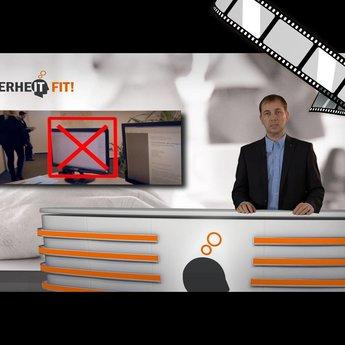 """szenisch und moderiertes Video """"Best of Clean Desk Policy"""""""