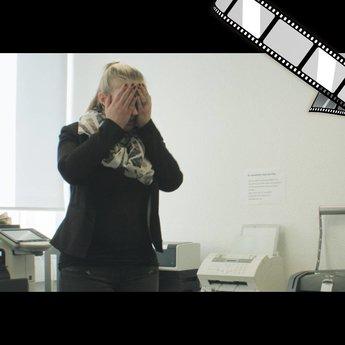 """szenisches Video """"Abteilungsfax"""""""