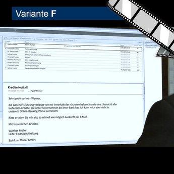 """szenisches Video """"Social Engineering per E-Mail """""""