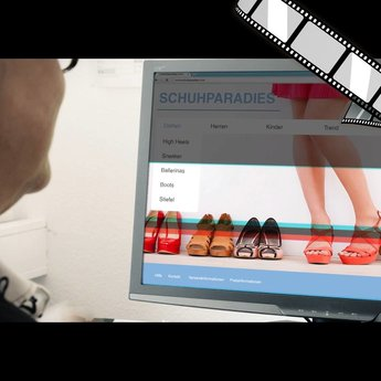 """szenisches Video """"Surfen trotz Sicherheitswarnung"""""""