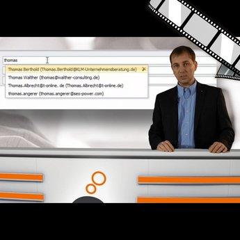 """moderiertes Video """"Falscher E-Mail-Empfänger """""""
