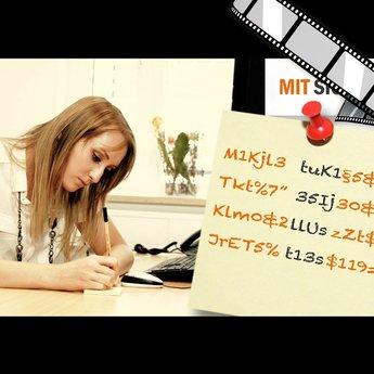 """szenisches Video """"Kennwörter verschlüsselt aufschreiben"""""""