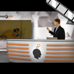 """Video """"Kennwörter nicht rumliegen lassen"""" moderiert"""