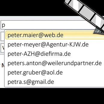 """szenisches Video """"Falscher E-Mail-Empfänger"""""""