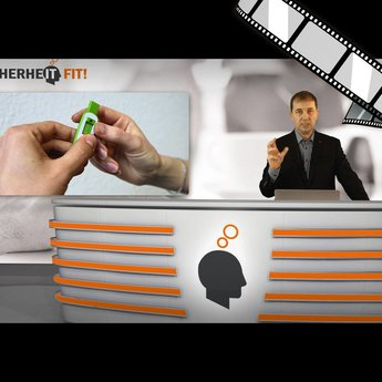 """moderiertes Video """"USB-Stick 1: Daten wirklich gelöscht?"""""""