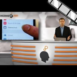 """Video """"Datenschutz- und Sicherheitseinstellungen, iPhone"""" moderiert"""