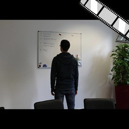 "Video ""Meeting Raum, Whiteboards"" szenisch"