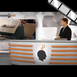 """Video """"Abteilungsfax"""" moderiert"""