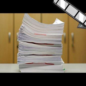 """szenisches Video """"Vertrauliche Dokumente wegräumen, Personalabteilung"""""""