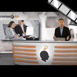 """Video """"Arbeiten im Flugzeug"""" moderiert"""