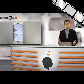 """moderiertes Video """"iPhone richtig und sicher konfigurieren"""""""