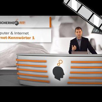 """moderiertes Video """"Internet-Kennwörter 1"""""""