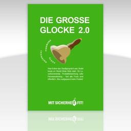 """Awareness-Plakat """"Die große Glocke 2.0"""" - einfarbig"""