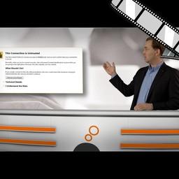 """Video """"WLAN in Hotels"""" moderiert"""