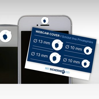 Camblock-Klappkarte (4 Sticker)