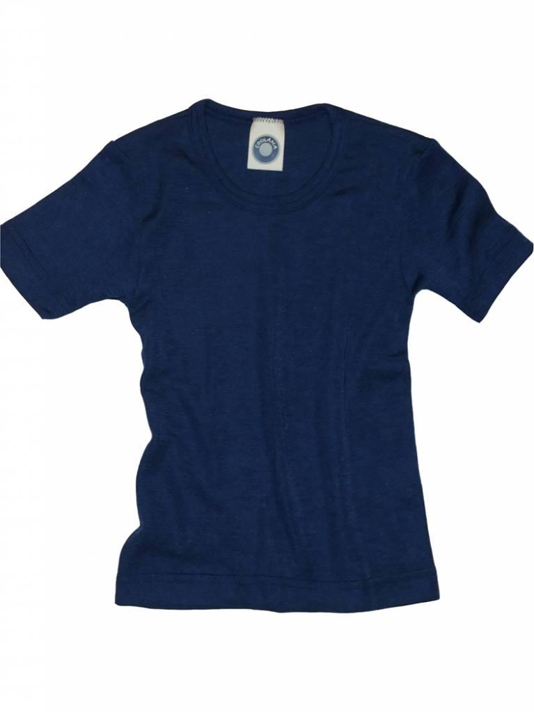 Cosilana Wolle/Seide Kinderunterhemd kurzarm