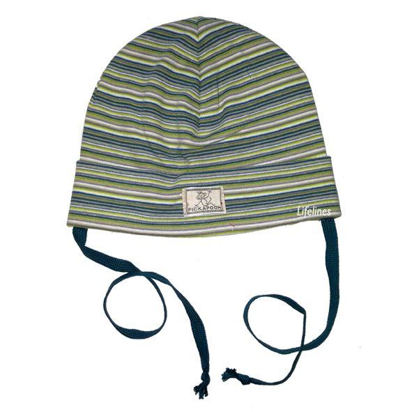Pickapooh Pickapooh Mütze Schlupper aus Biobaumwolle